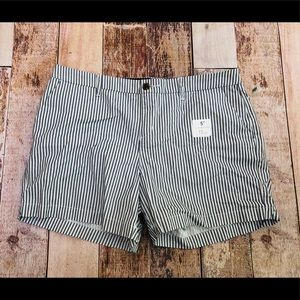 Old Navy Striped shorts size 12 new with tags